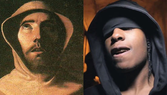 15位嘻哈名人和古画的大撞脸 - 第9张  | 嘻哈中国