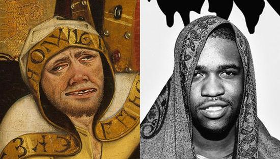 15位嘻哈名人和古画的大撞脸 - 第2张  | 嘻哈中国