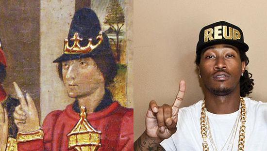 15位嘻哈名人和古画的大撞脸 - 第15张  | 嘻哈中国