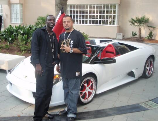 Akon |  - Lamborghini Murcielago 兰博基尼Murcielago