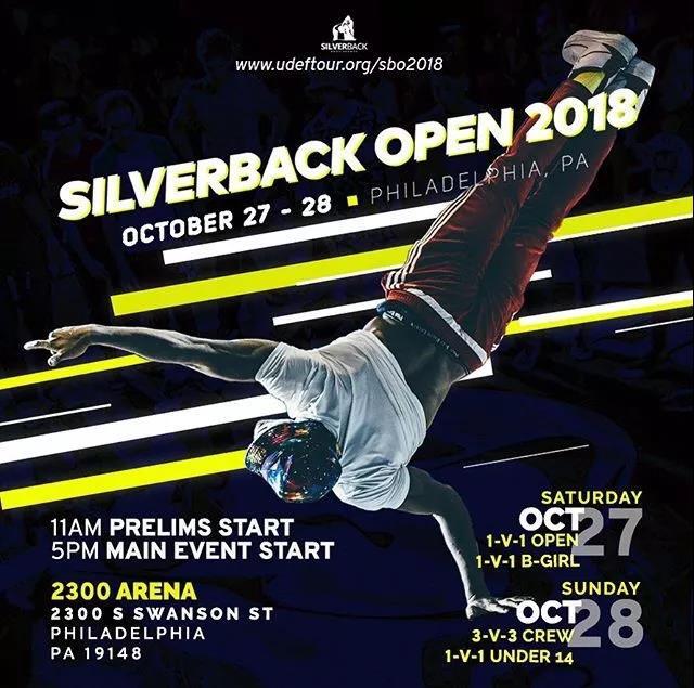 世界顶级 Breaking 赛事 Silverback 2018 落幕 - 第1张  | 嘻哈中国