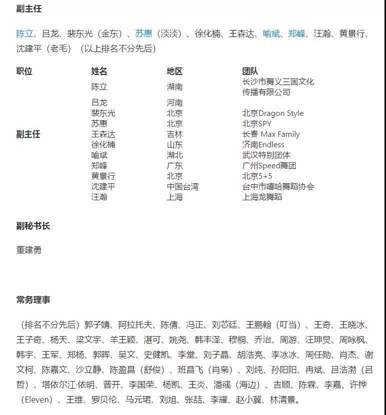 中国舞蹈家协会街舞委员会是个什么级别的组织 - 第7张  | 嘻哈中国