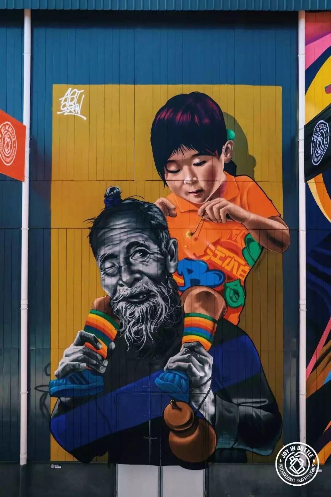 街舞涂鸦画_带你看江小白涂鸦大赛—重庆JOY IN BOTTLE | 嘻哈中国
